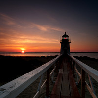 Brant Point Lighthouse at Dawn